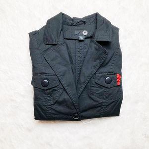 H&M X Louis Vuitton 2 Button Waist Belt Blazer SZ4